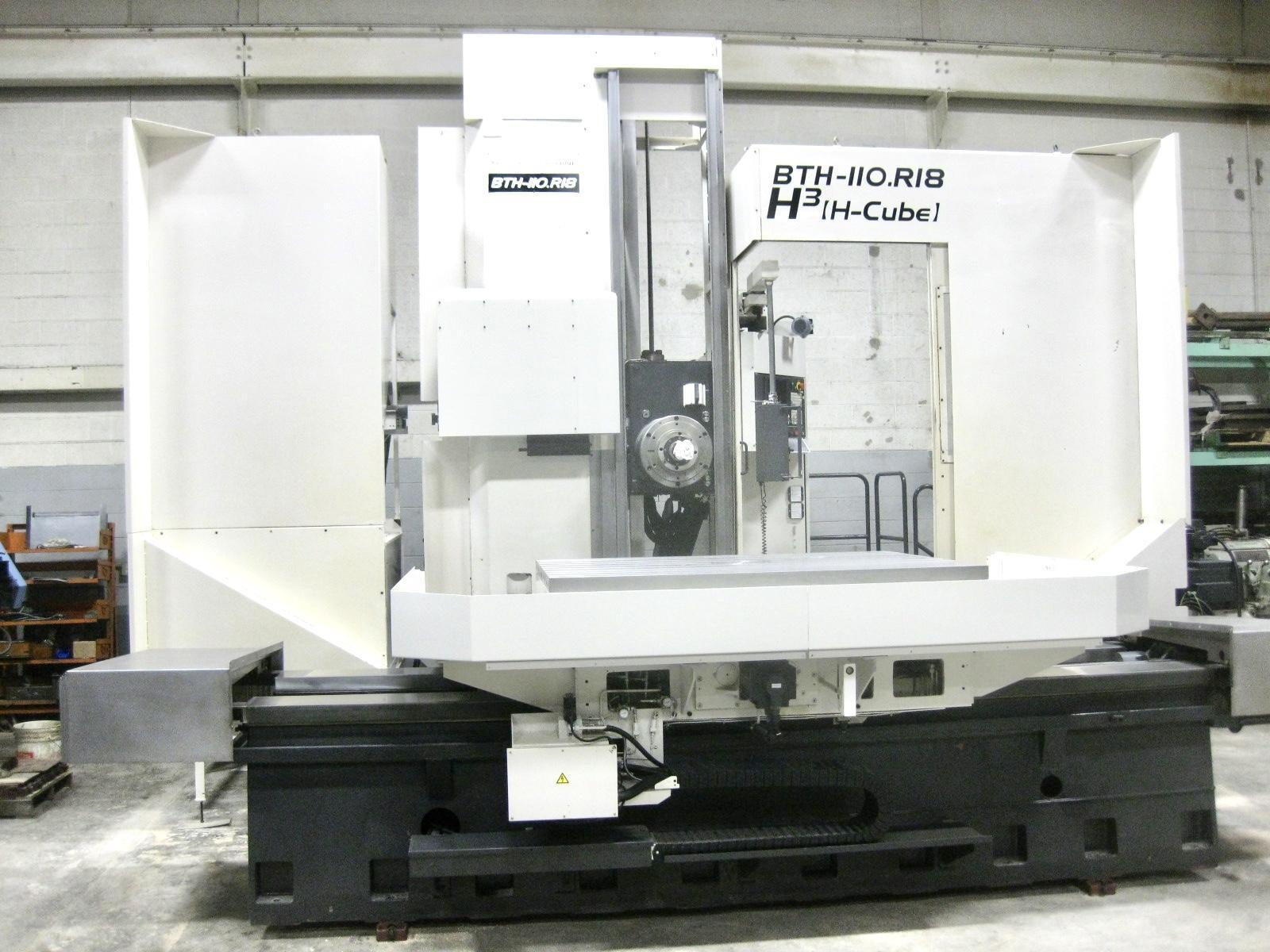 "TOSHIBA BTH 110 R18 ""HI CUBE"" CNC HORIZONTAL BORING MILL