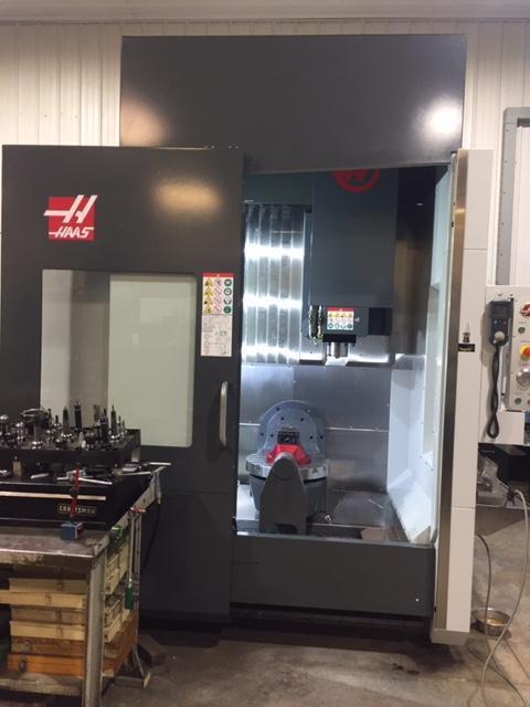 2018 HAAS UMC-750 5 AXIS MACHINING CENTER