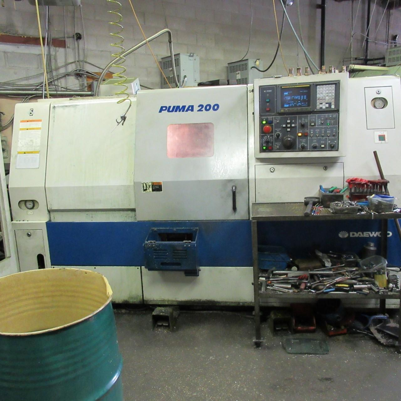 Daewoo PUMA-200LB Turning Center