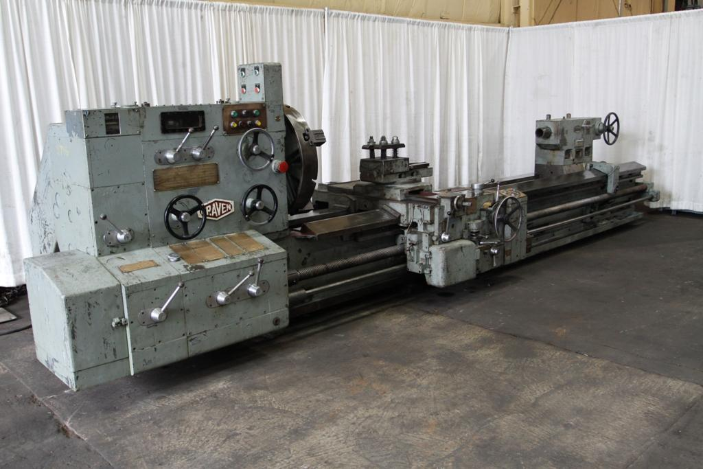 38' X 156' (13') CRAVEN ENGINE LATHE:  STOCK #8746