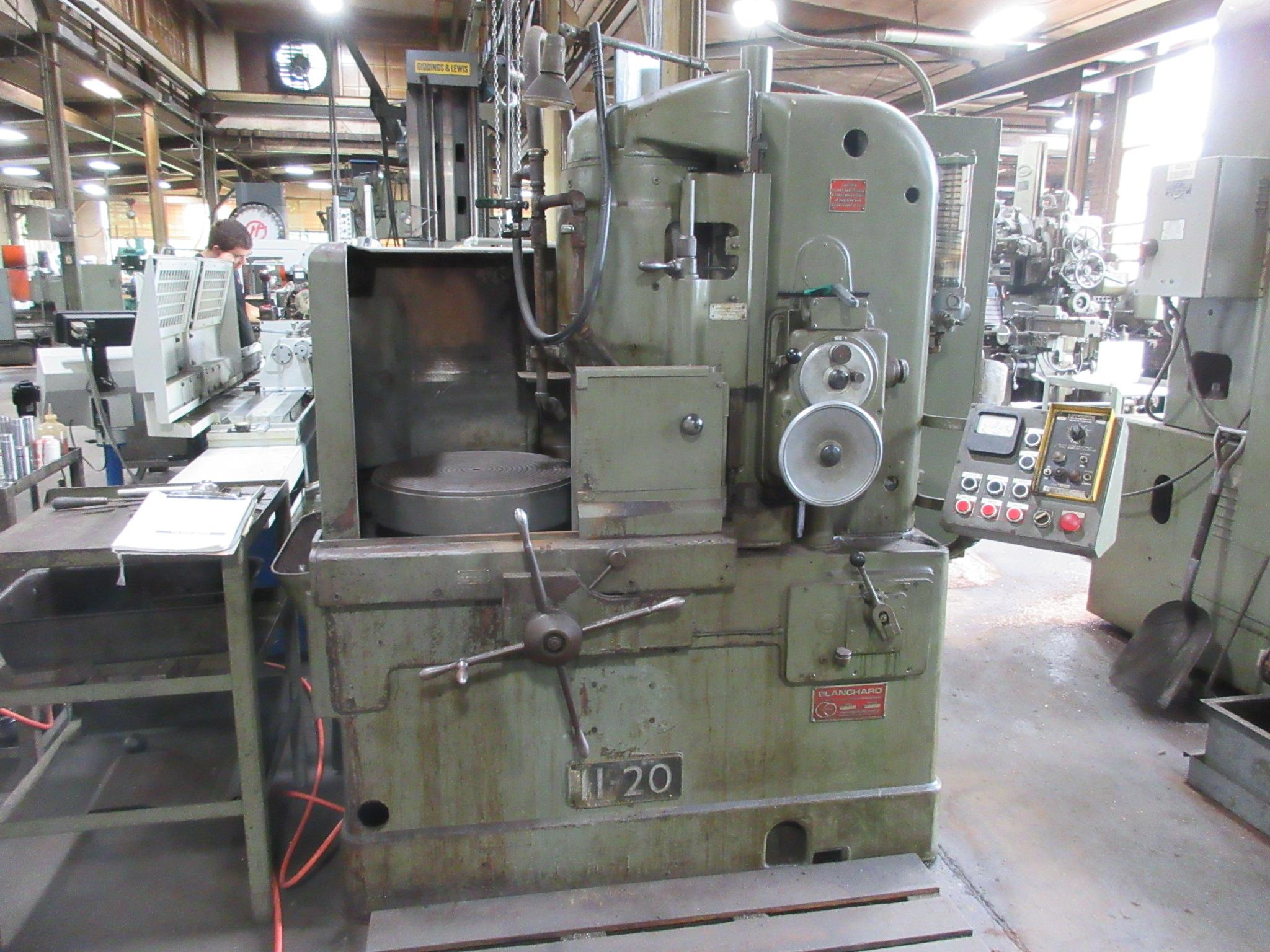 Blanchard # 11-20, 20″ Diameter Vertical Spindle Rotary Surface Grinder