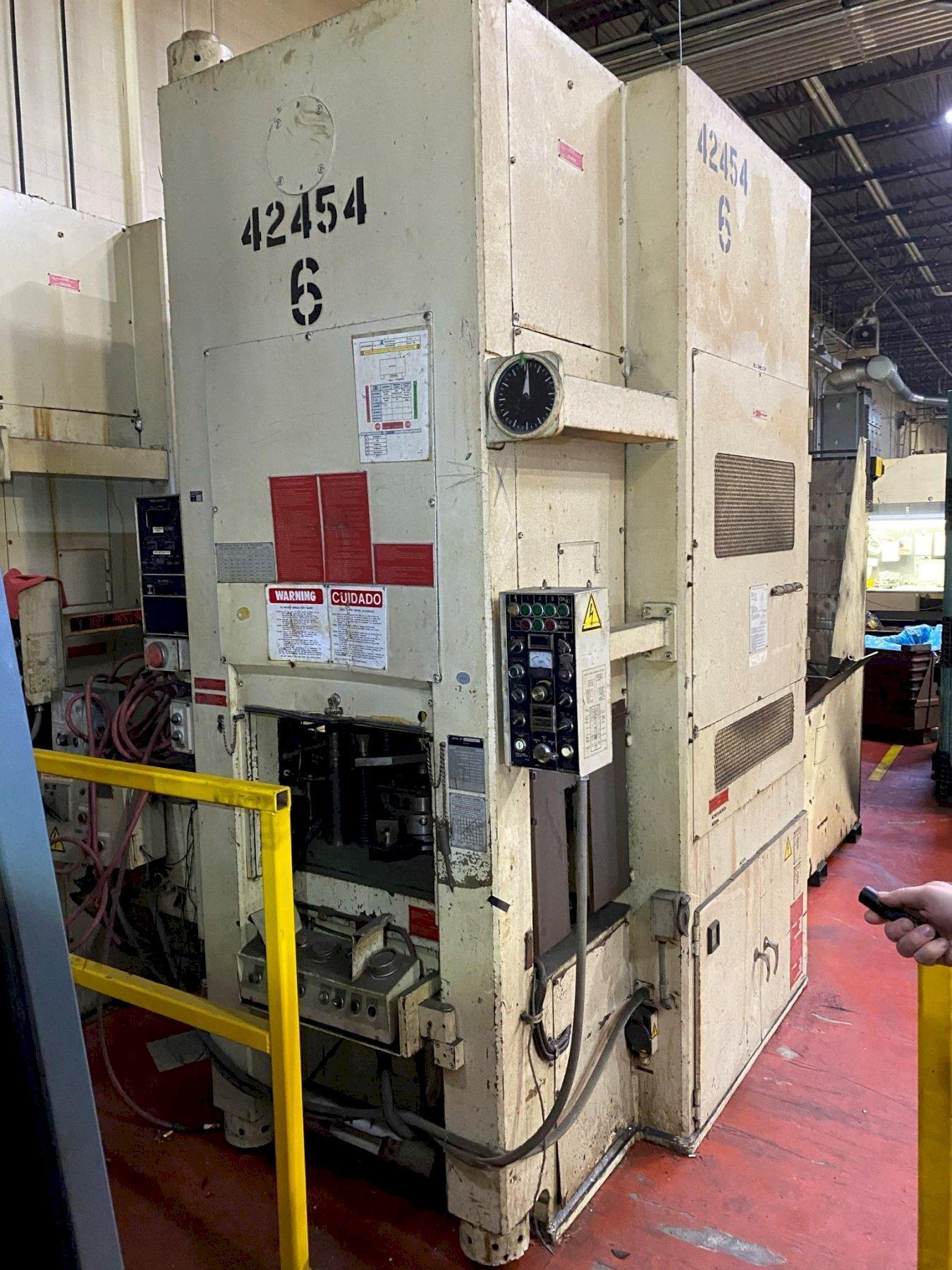 275 TON AIDA COLD FORGING MODEL K-250 PRESS