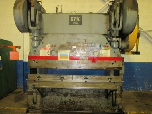 115 Ton, CINCINNATI 7 SERIES x 6' PRESS BRAKE   Our stock number: 112696