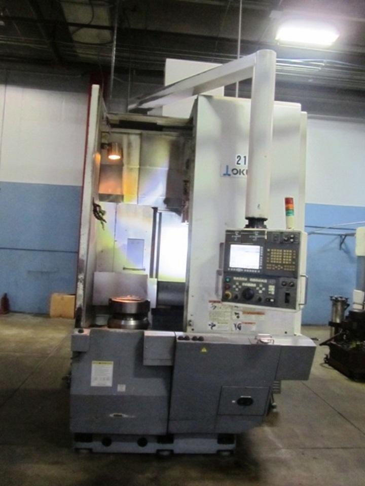 Okuma V60R CNC Vertical Lathe, Fanuc 31iMB, 15