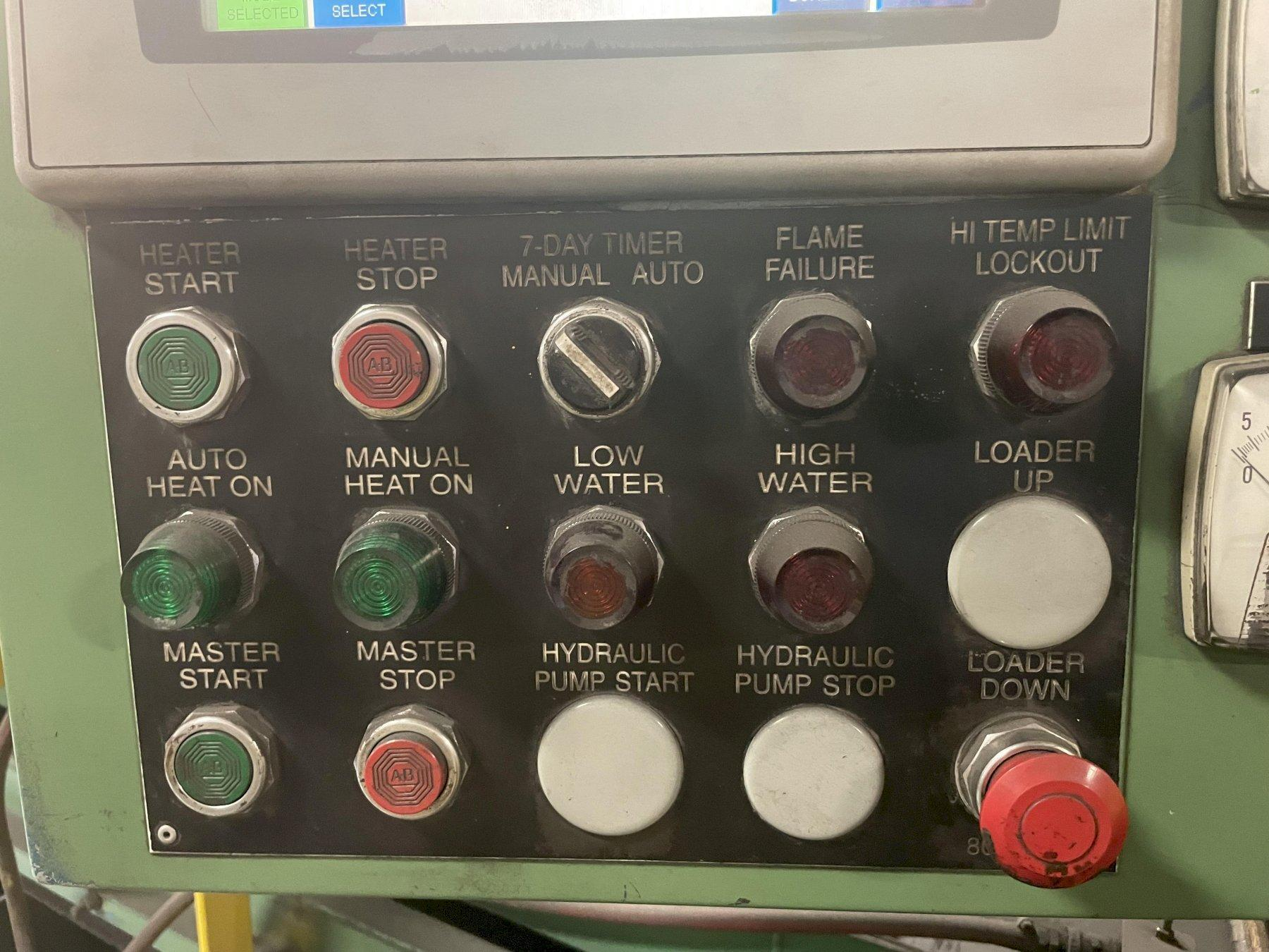 6 FT GOFF MODEL #6BB AUTOMATIC WASH & BLAST SYSTEM: STOCK 15379