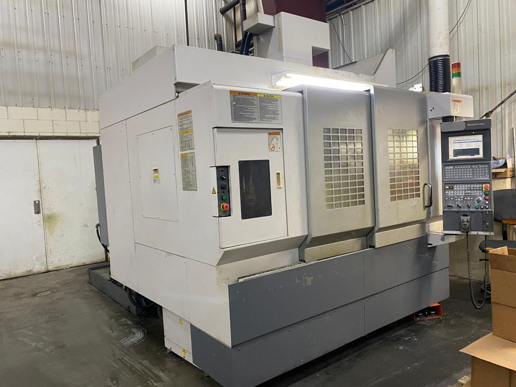 "Okuma MB 56VA CNC Vertical Machining Center, Travels: 40"" x 20"", 15,000 RPM, 32 ATC, OSP Control, New 2004"