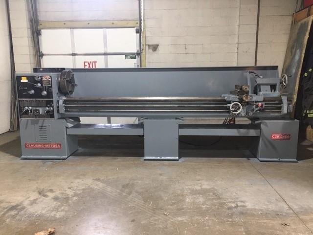 "20"" X 120"" CLAUSING METOSA MODEL #C20124SS ENGINE LATHE"