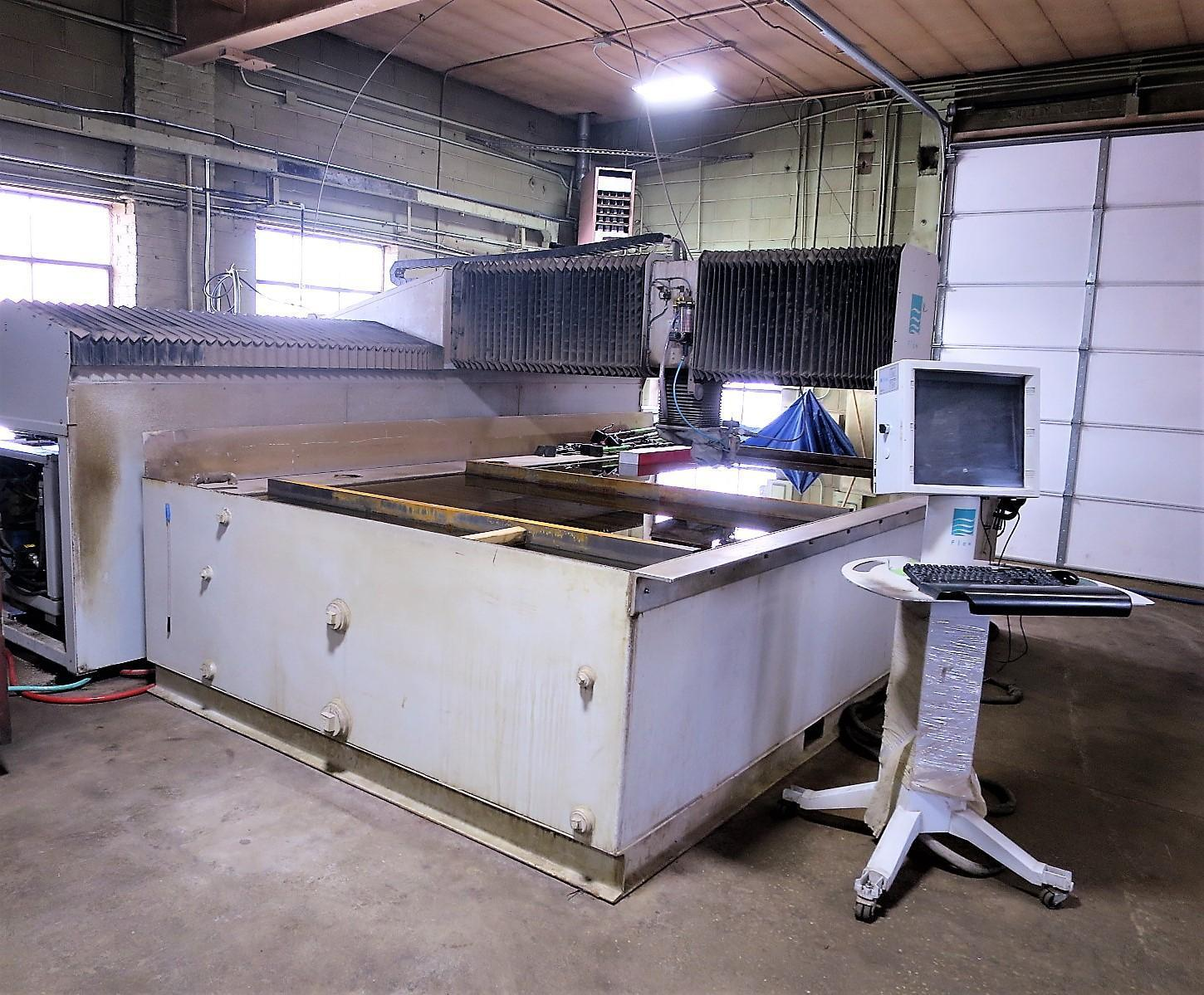 2008 Flow Mach3 4020B, 6x12, 87,000 PSI Waterjet