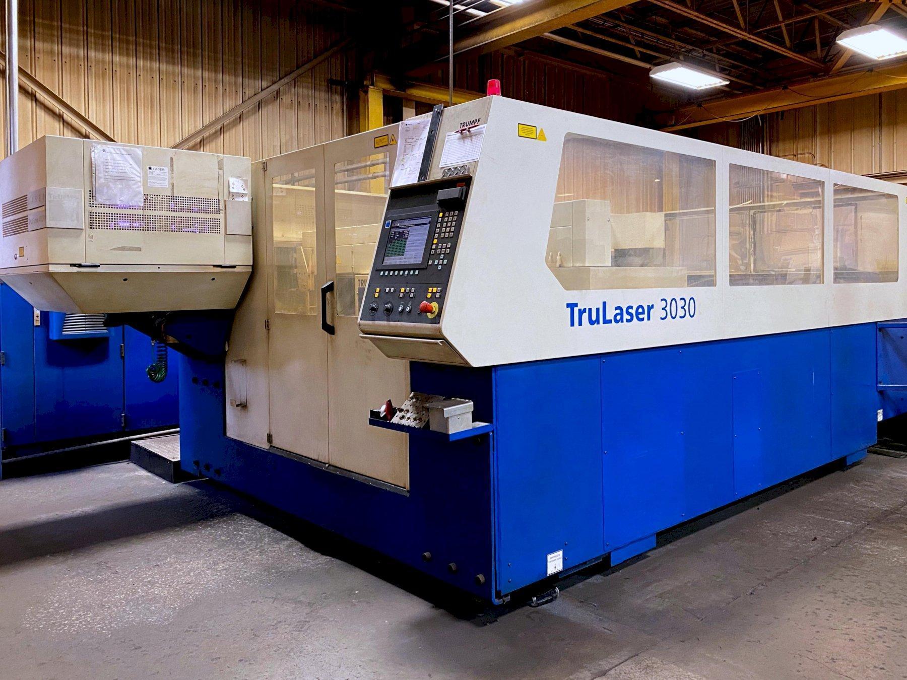 Trumpf TruLaser 3030 (2006) 4,000 Watt CO2 Laser