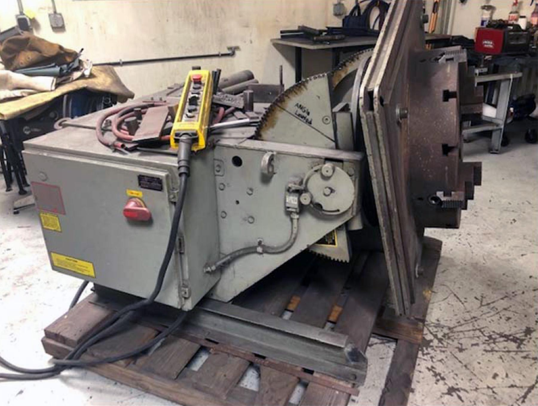 USED, KOIKE ARONSON MODEL HD45VF WELDING POSITIONER