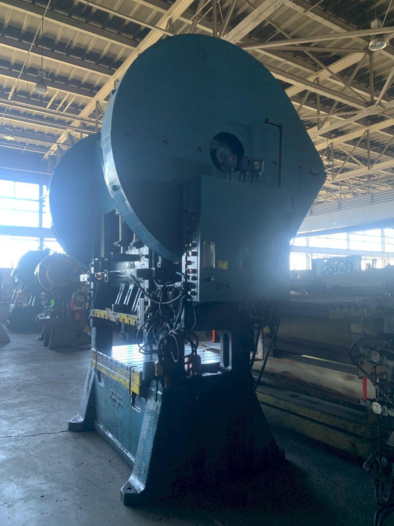 150 TON BLISS #S2-150-60-42 SSDC PRESS. STOCK # 1601020