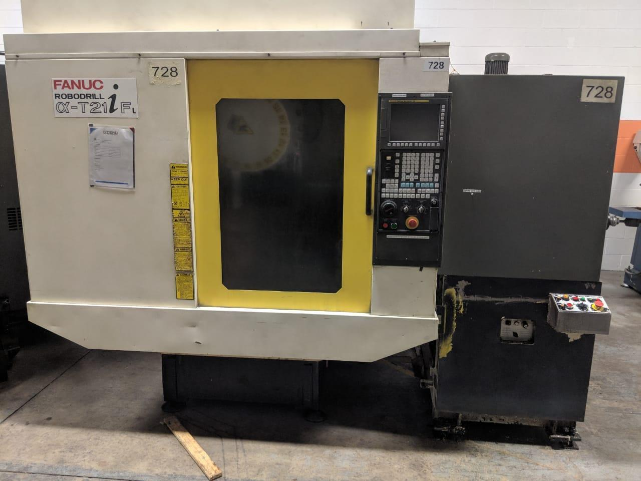 Fanuc Robodrill Alpha T21iF L Vertical Machining Center