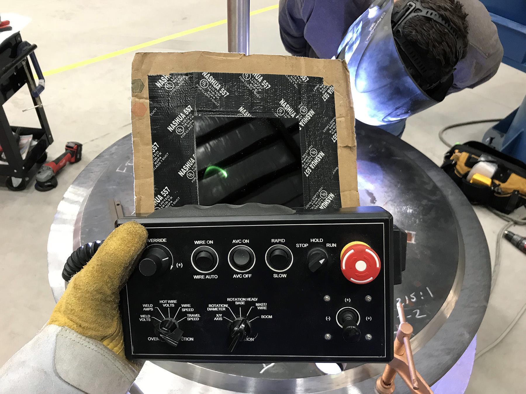 USED, ARC-05i ROTATING HEAD CLADDING SYSTEM