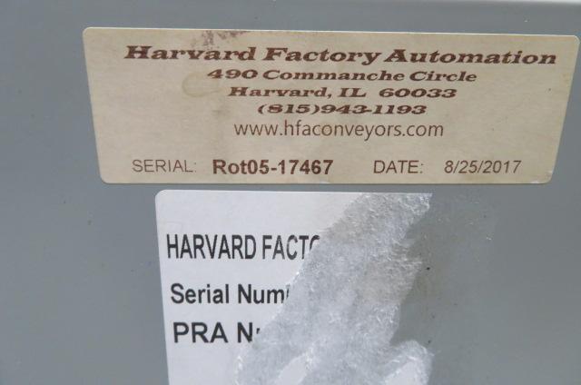 "HFA Used 60"" Turntable Box Fill System, 120V, Yr. 2017"
