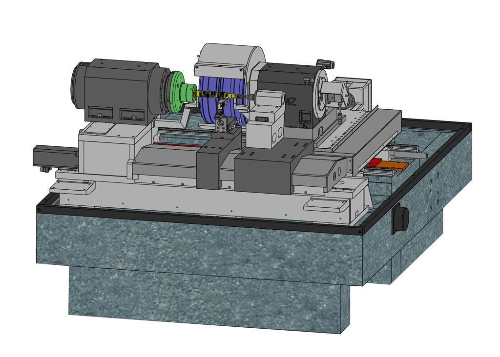 Buderus CNC 635-500 Cylindrical Grinder