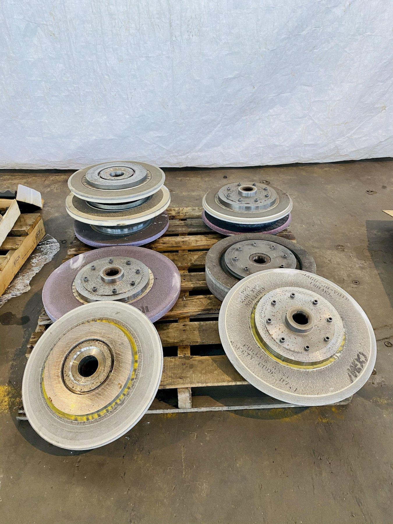 (10) LEMPCO GRINDING WHEELS HUBS. STOCK # 0312521