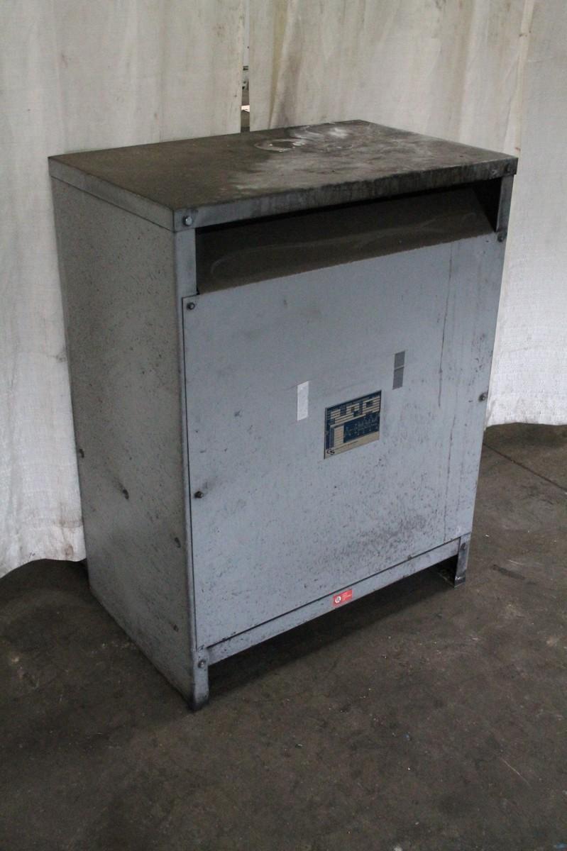145 KVA G S ELECTRIC THREE PHASE TRANSFORMER:  STOCK #65976