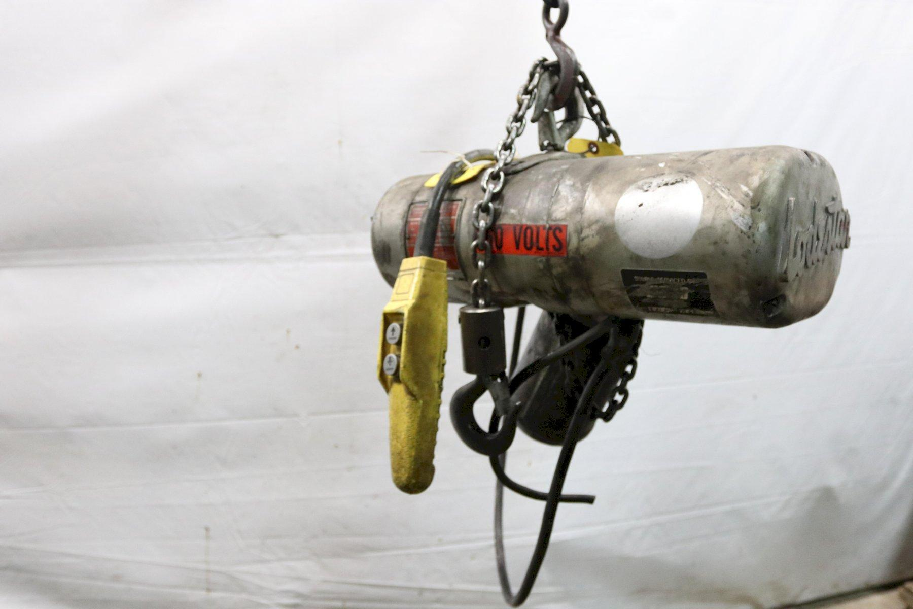 1/4 TON LOADSTAR ELECTRIC CHAIN HOIST: STOCK #12003