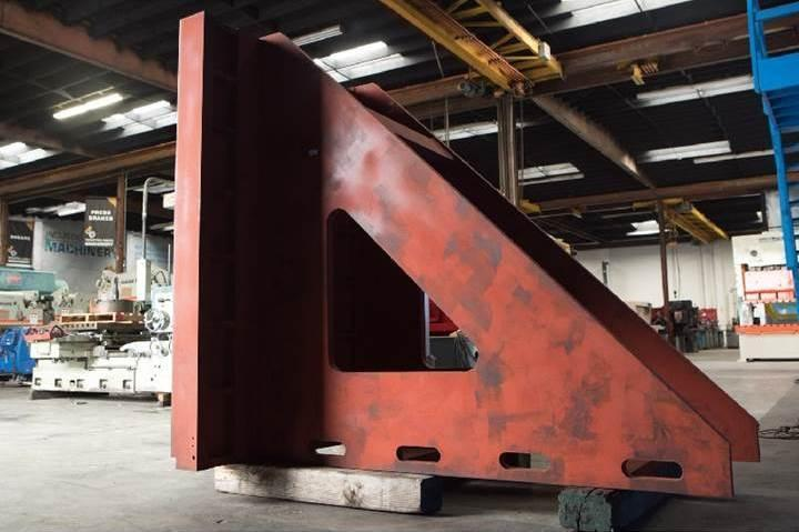"""72"""" W X 89"""" H X 95"""" T & S ANGLE PLATE STOCK #2792"""