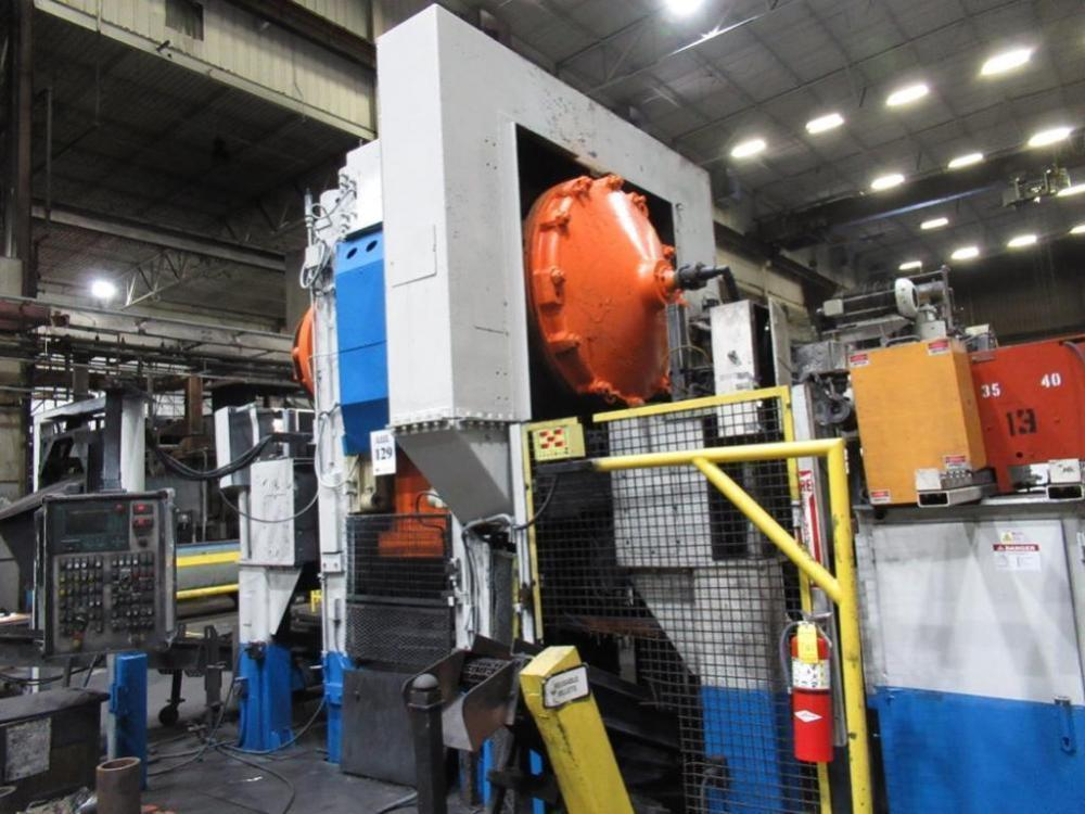 1000 Ton Eumuco Forging Press Cell W/ AJAC Tocco Induction Heating System
