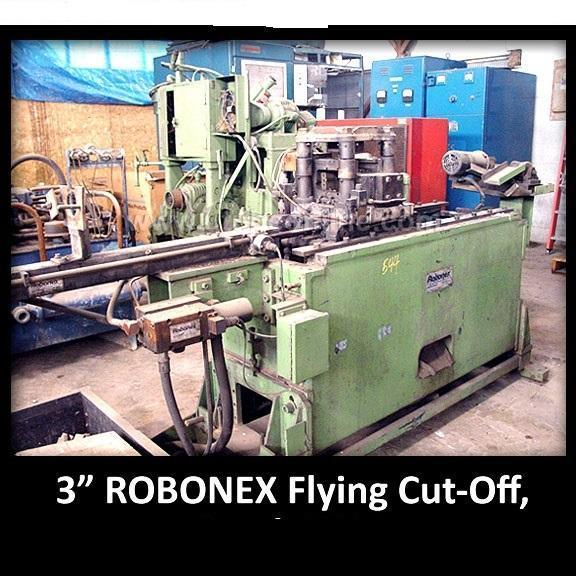 "3"" 76.2 mm Robonex ART-1600 Flying Tube Cut-off Press"