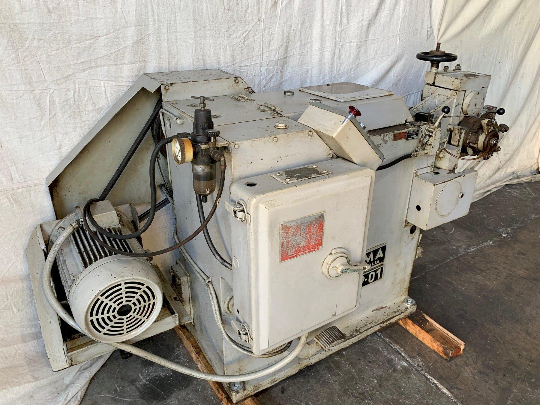 """3/16"""" Sacma Model SP-01 DSSD Cold Header"""