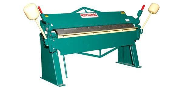 12 Ga. x 4 ft, New National Heavy Duty Box & Pan Brake, U6-4812