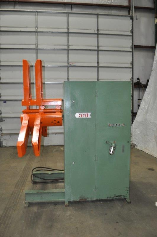 7,000 Lb RED BUD UNCOILER / PAYOFF (13975)