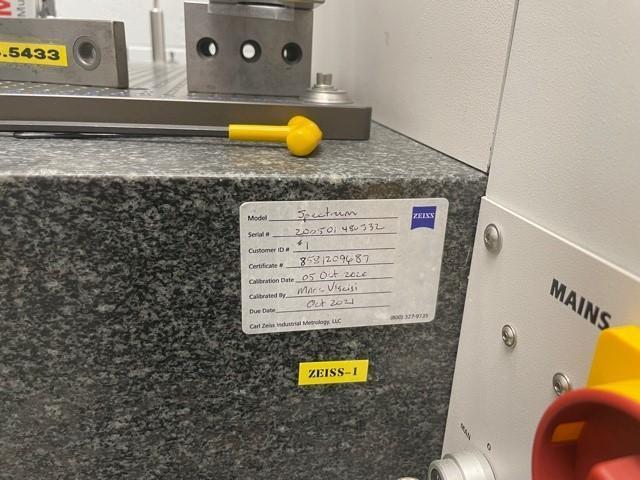 Zeiss Spectrum 7/7/6 w/RDS DCC Coordinate Measuring Machine (CMM)(#33265)