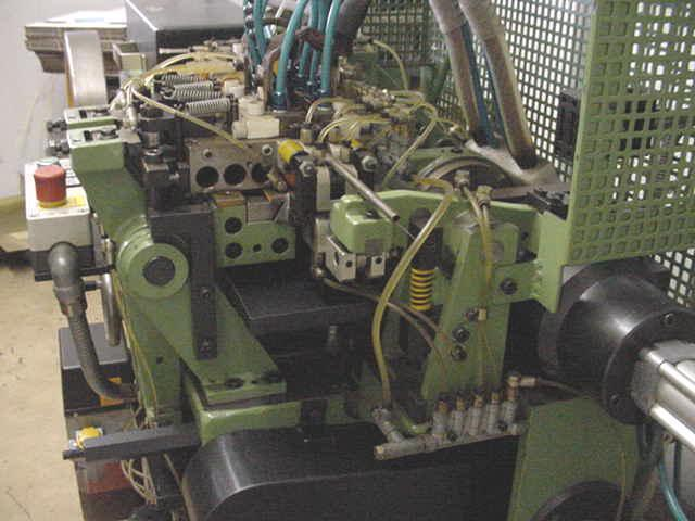 Bundgens UDR Wire Straightening & Hot Parting Machine