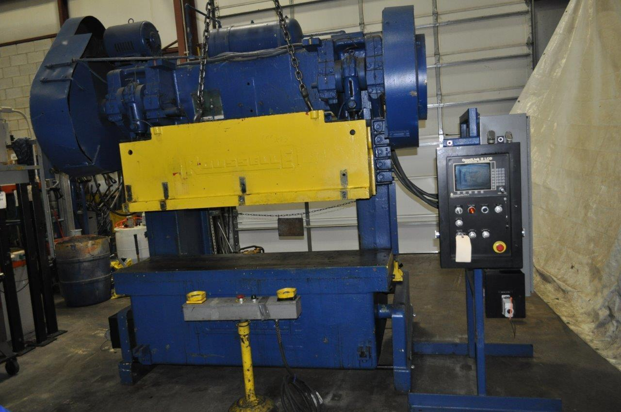 80 Ton Rousselle Double Crank Gap Frame Press