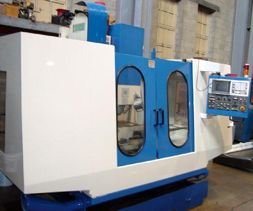 "JOHNFORD SV-45, Fanuc 18M CNC Control, 48"" x 20"" Table, X=43"", Y=20"", Z=25"", 30 ATC, New 1999."