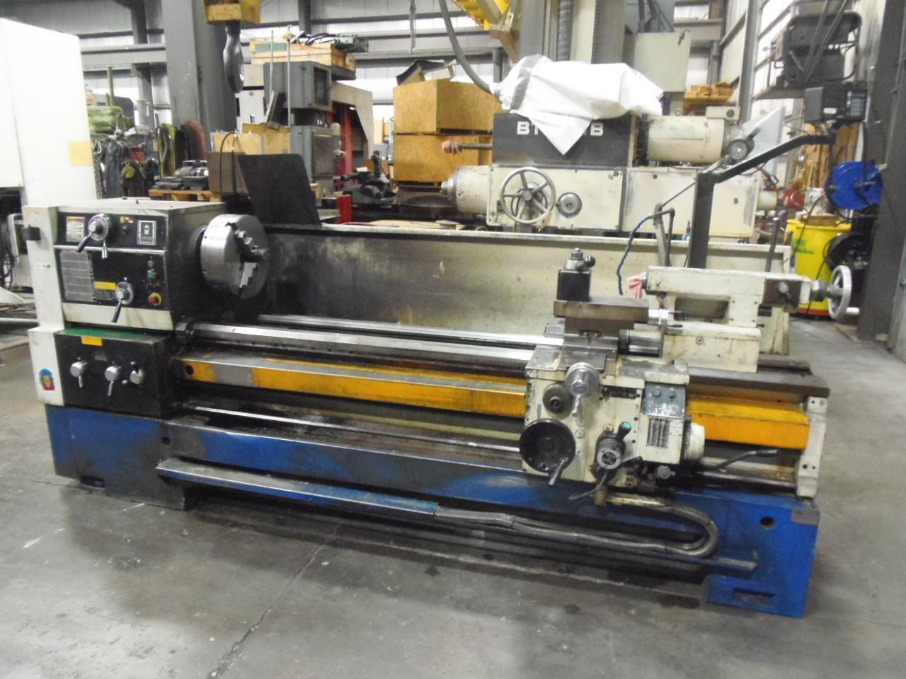"24"" x 80"" SUMMIT ENGINE LATHE, NEW 2006, RAPIDS, DIGITAL, TAPER, STEADY, 4"" HOLE"