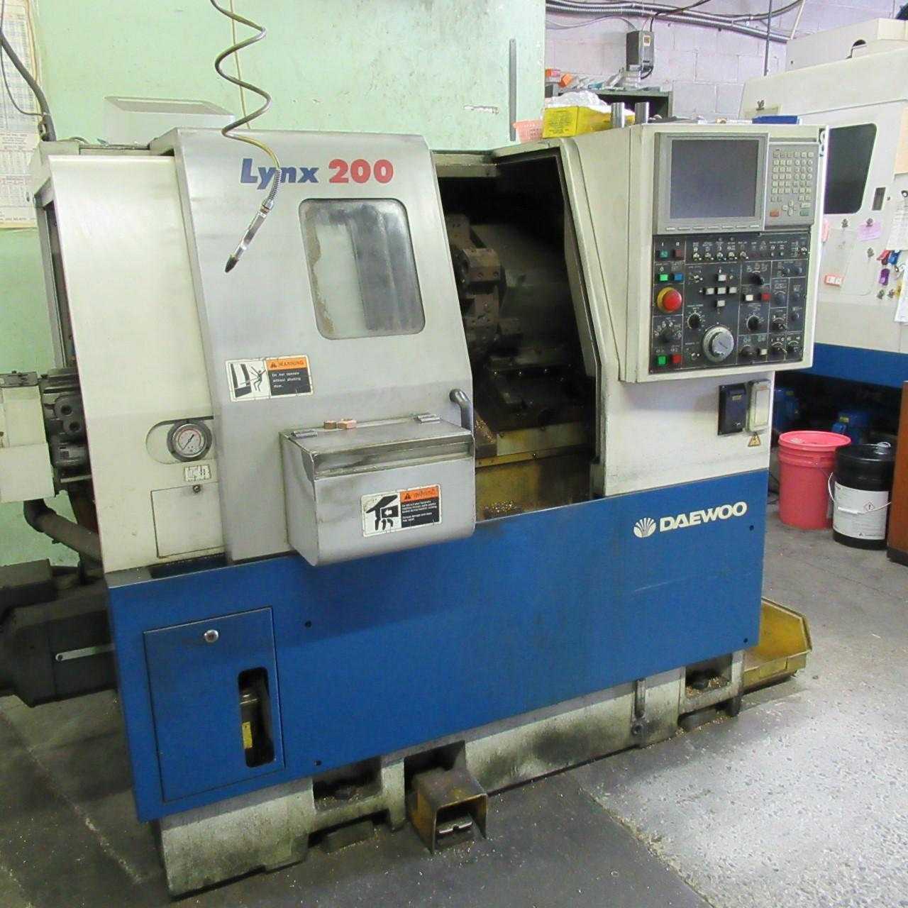 Daewoo LYNX-200B Turning Center