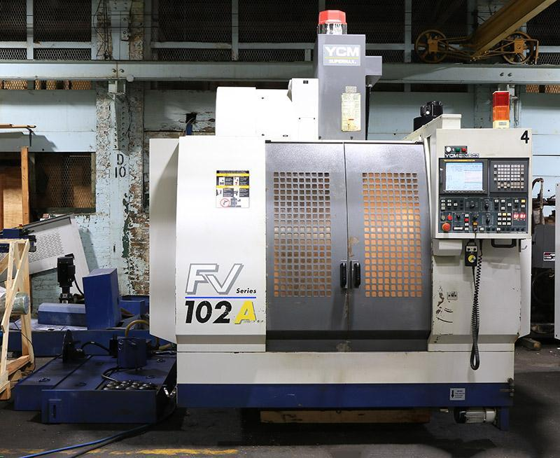 YCM Supermax Model: YCM-FV102A Mfg.: 2003 S/N: 305520