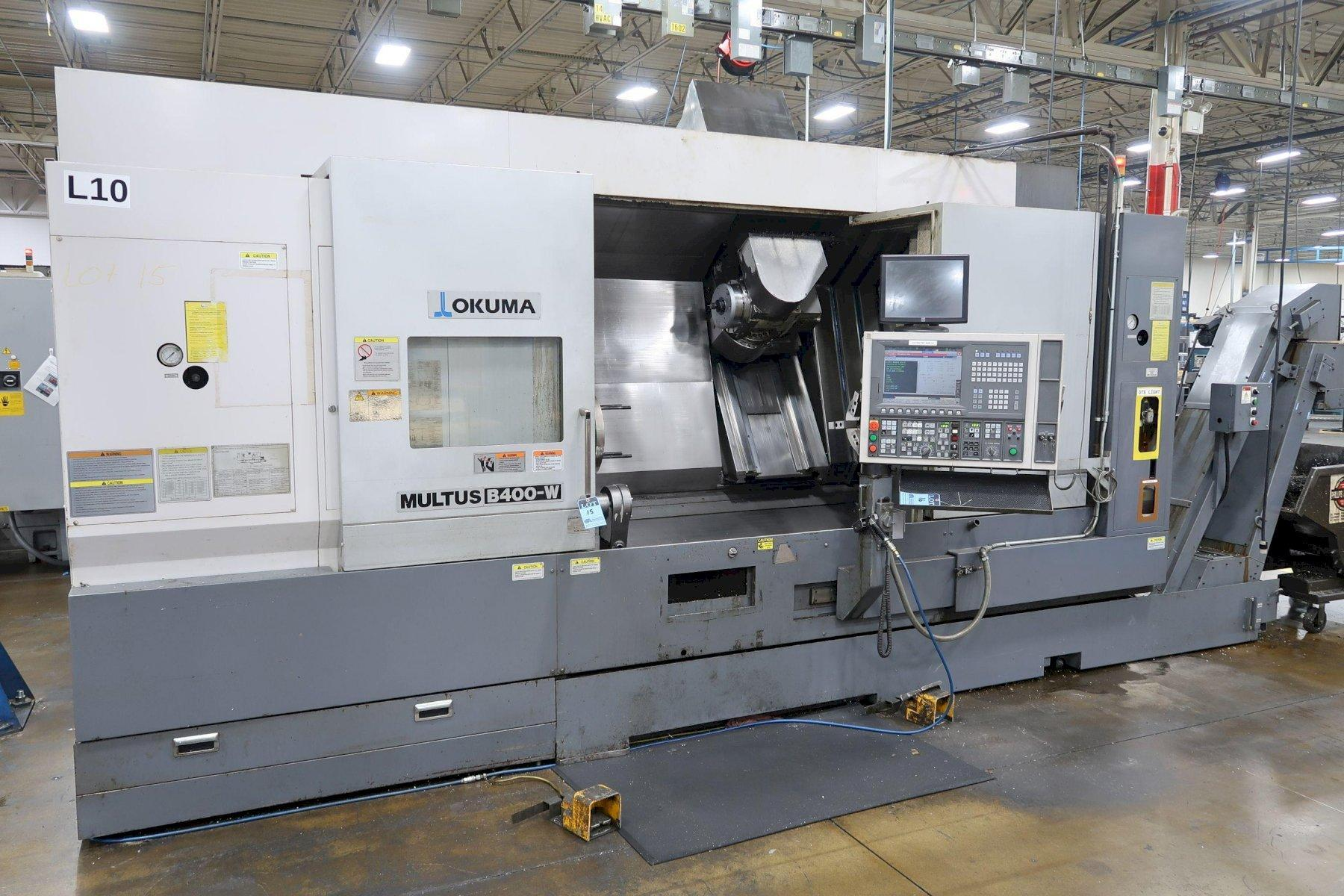 Okuma Multus B400W CNC Turning/Milling Machine with (Y) Axis