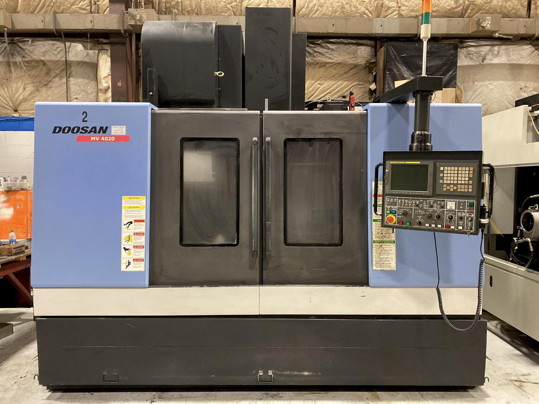2007 Doosan MV-4020 CNC Vertical Machining Center