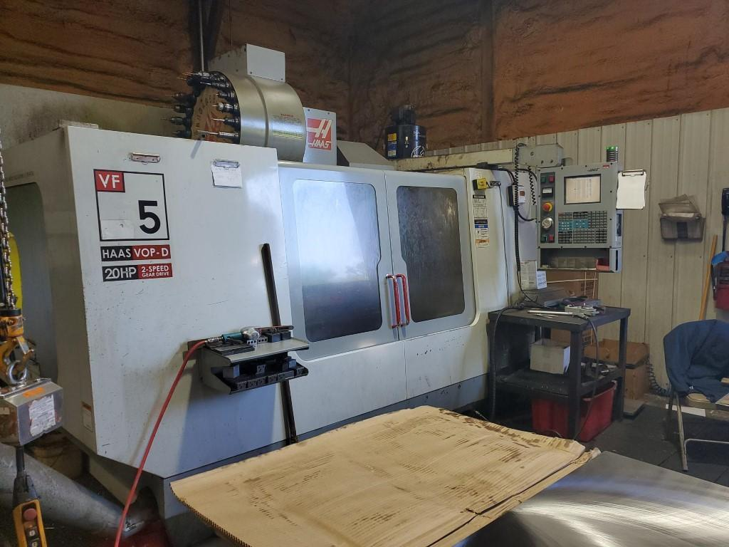 Haas VF-5/40 CNC Vertical Machining Center