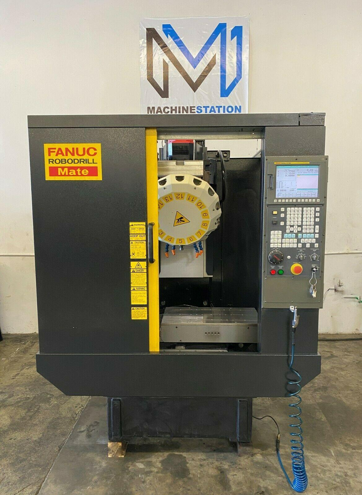 FANUC ROBODRILL MATE CNC DRILL TAP VERTICAL MACHINING CENTER