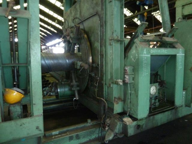 """80"""" (2013mm) x 14mm Thyssen Spiral Pipe Mill"""
