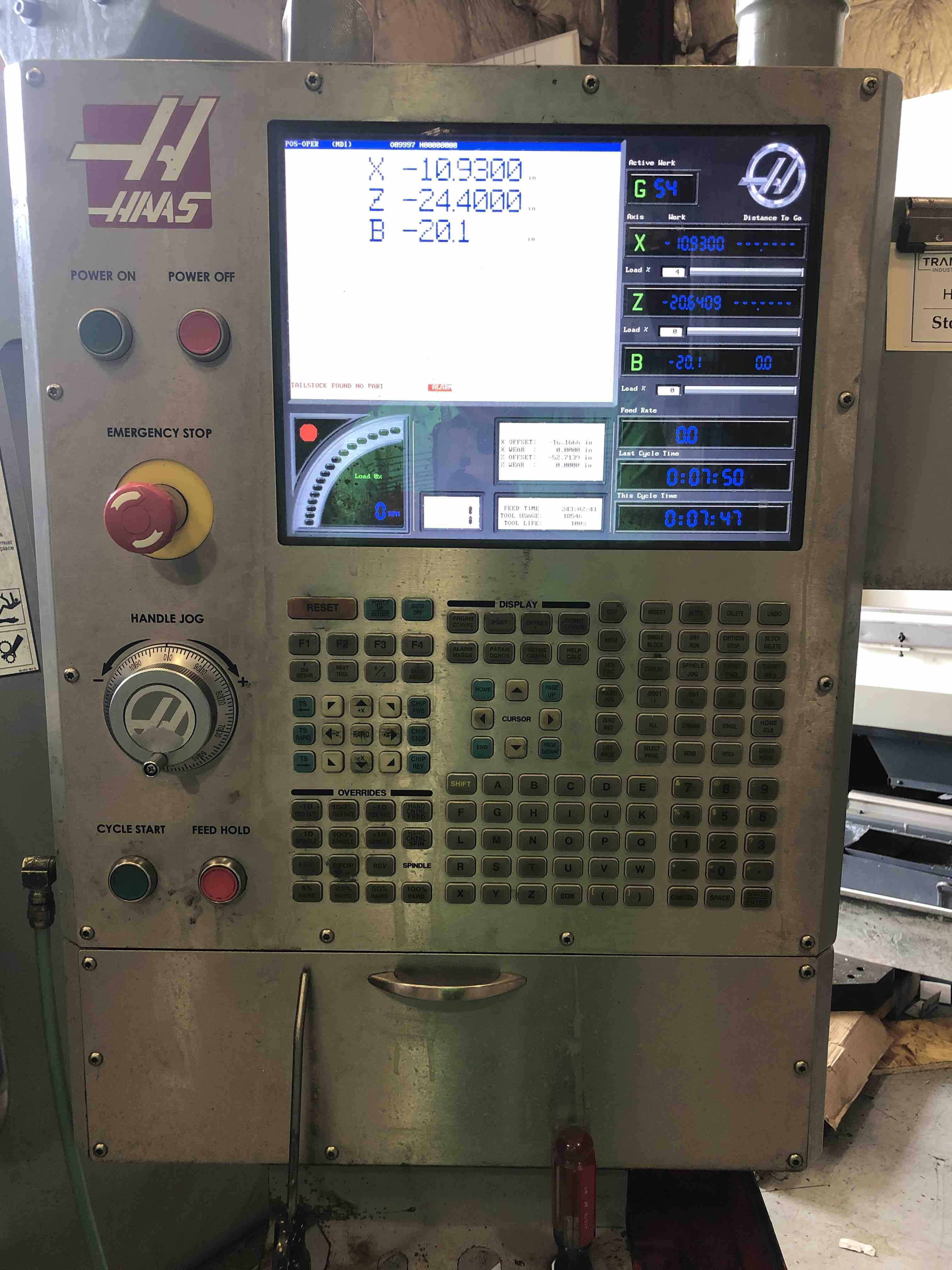 2006 Haas SL-30L - CNC Horizontal Lathe