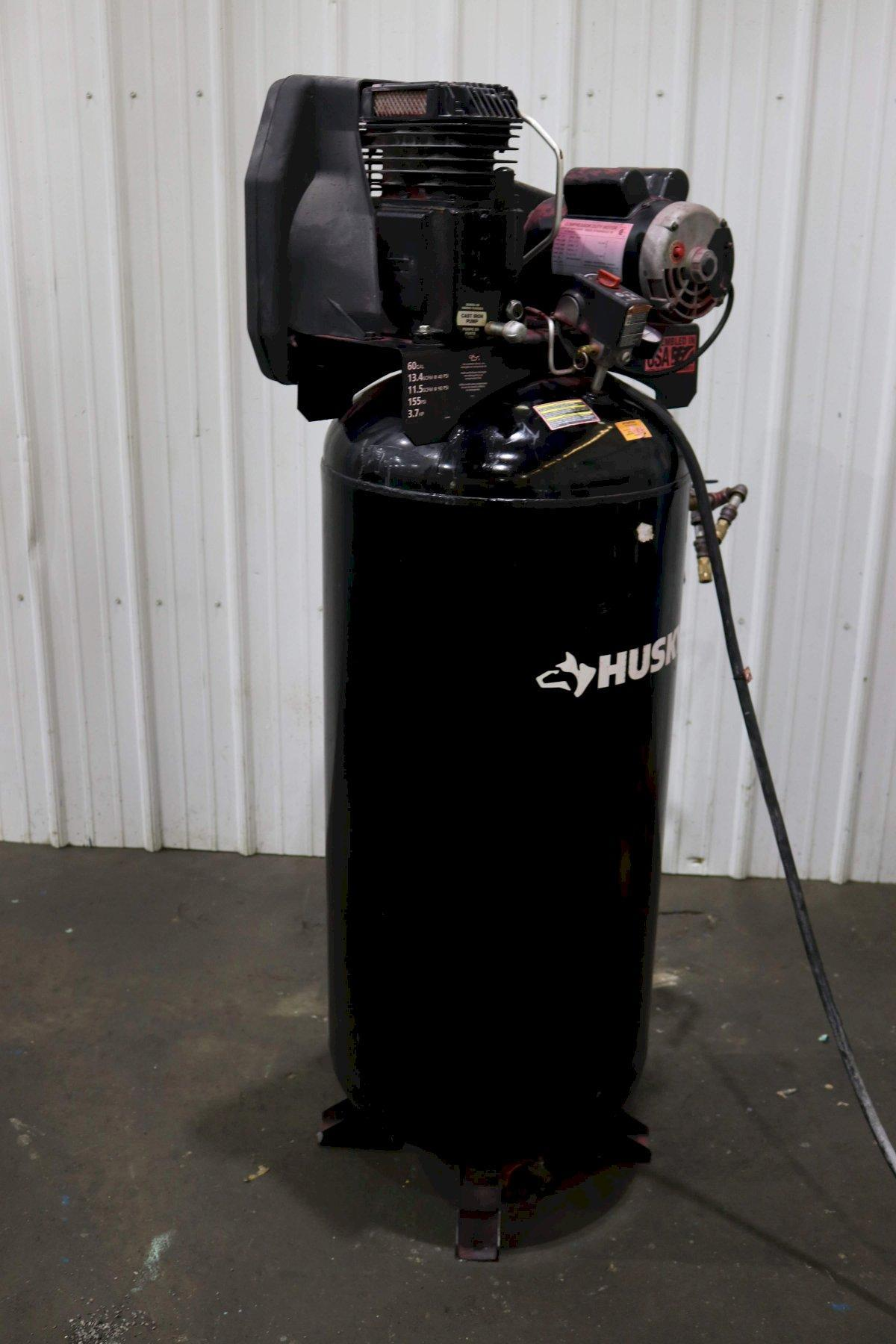 3.7 HP HUSKY AIR COMPRESSOR: STOCK #73111
