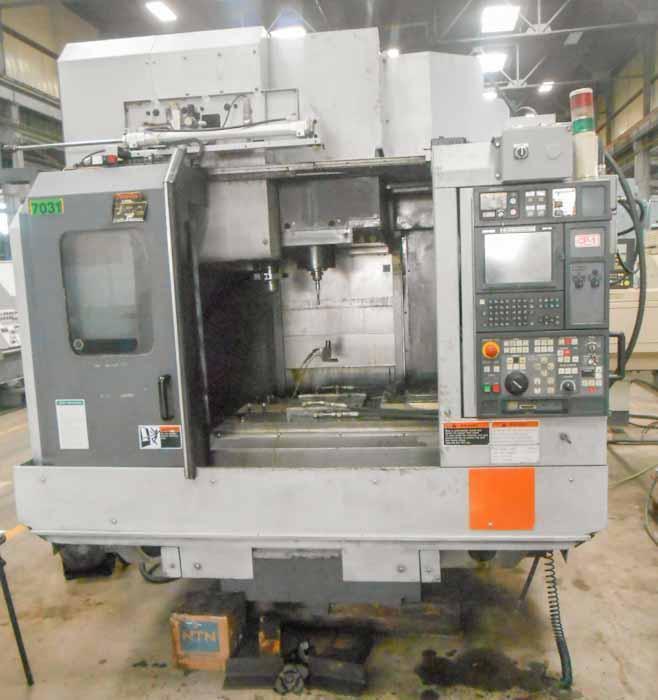 Mori-Seiki Model NV5000A/40 CNC Vertical Machining Center