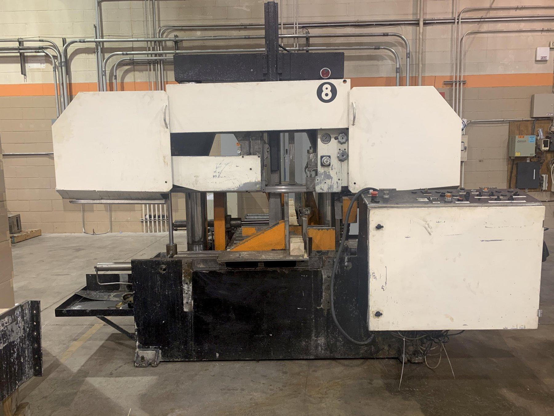 "14"" x 14"" Behringer Model HBP360A Twin Column Automatic Horizontal Band Saw"