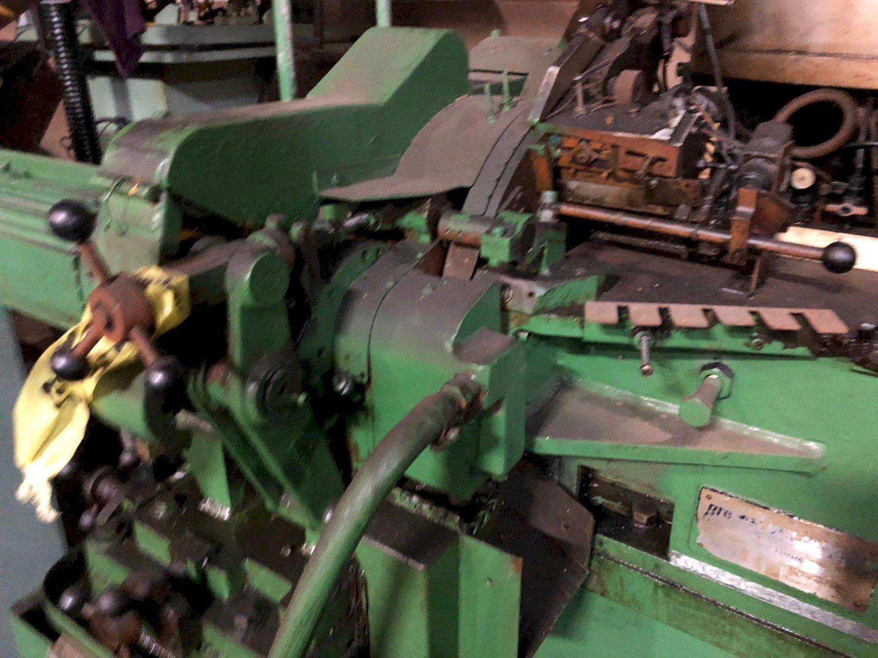 Warren Model WS-1000 High Speed Head Slotter