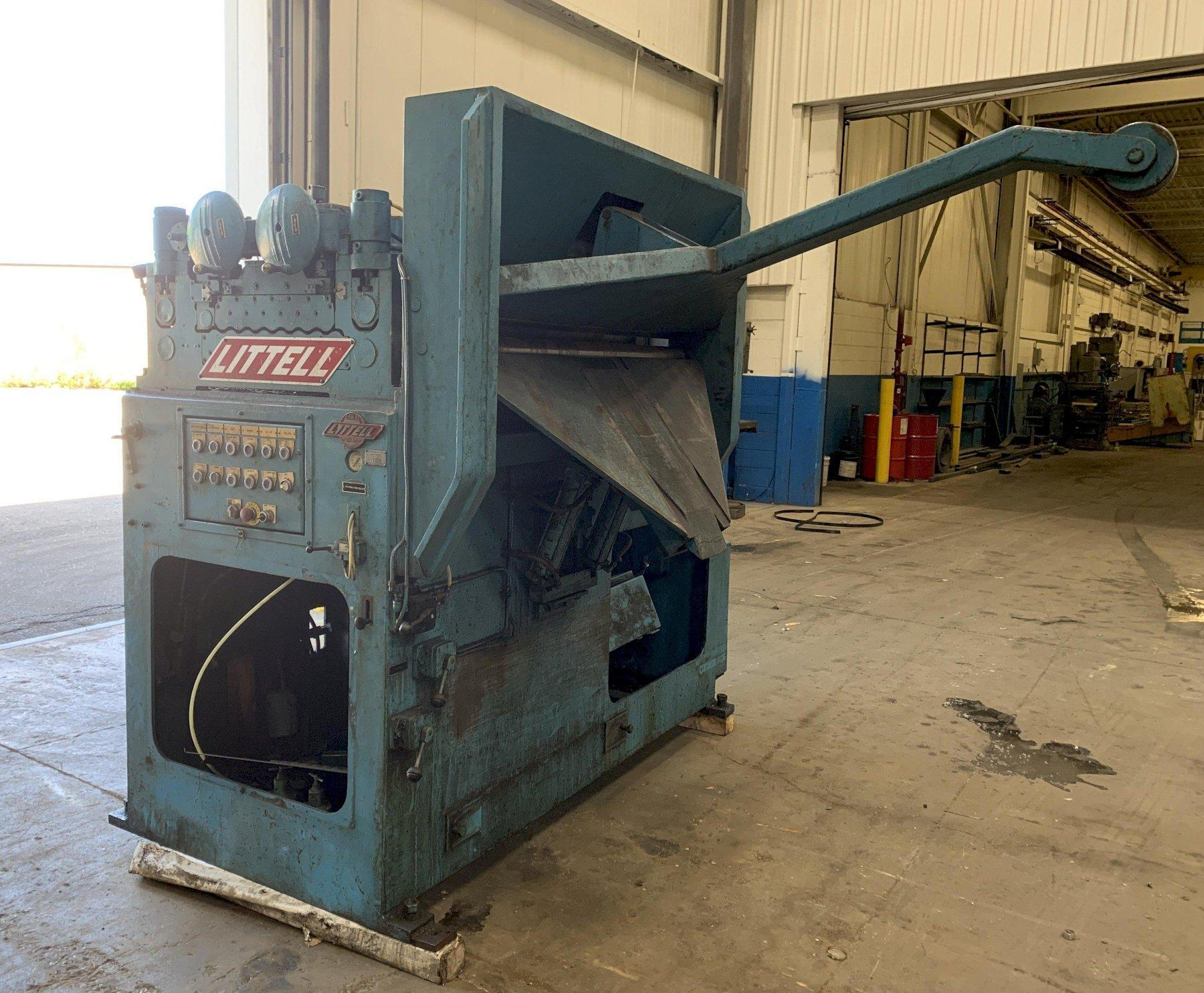 "20,000 lbs x 48"" wide Littell Reel and Precision Powered Straightener"