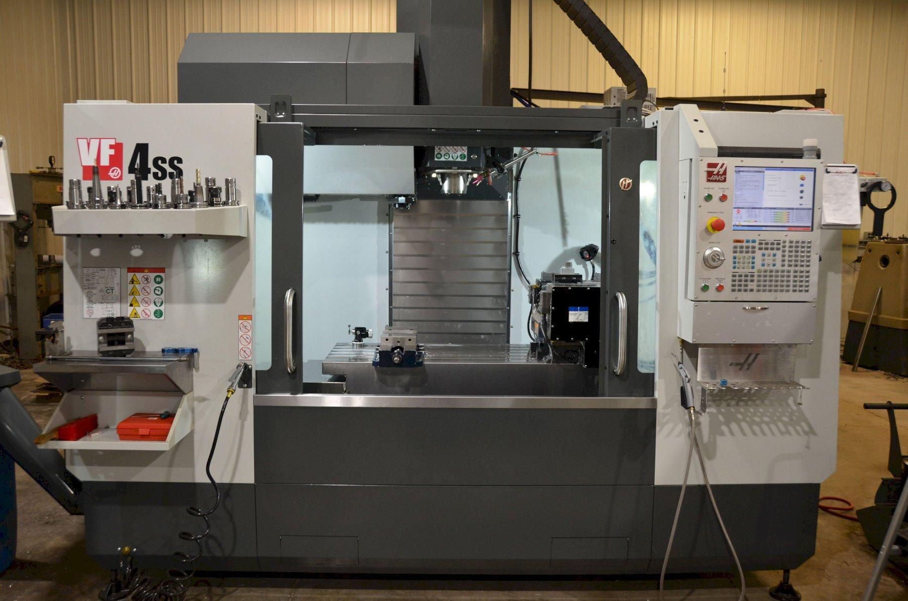 HAAS VF-4SS 5-AXIS VERTICAL MACHINING CENTER
