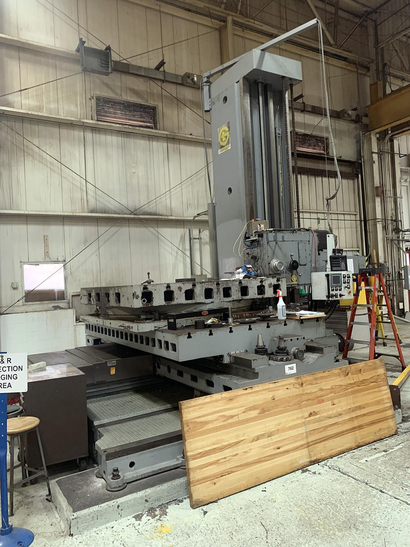 "USED, 6"" GIDDINGS & LEWIS MODEL 70-H6-T HORIZONTAL BORING MILL, REBUILT 2014 - LIKE NEW CONDITION."