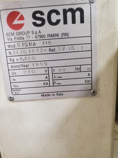 SCM SIGMA MODEL 115 PANEL SAW