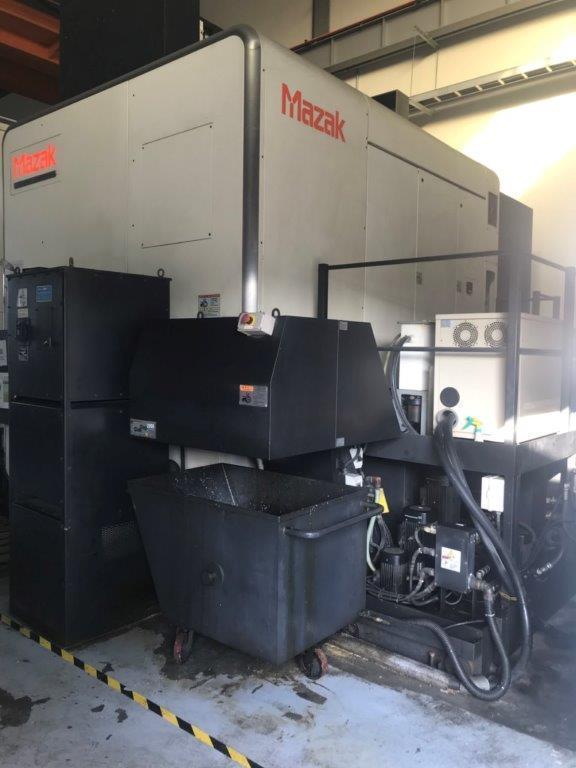 """MAZAK, VORTEX E1060/8, 73.82"""" X, 41.73"""" Y, 62.96"""" Z CNC VERTICAL MACHINING CENTER"""